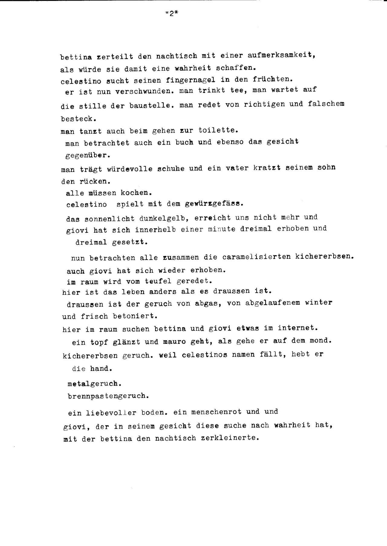 Mauros Geburtstag Literaturdienst Julia Weber